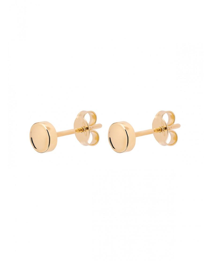 Pearl Złote Kolczyki N°19