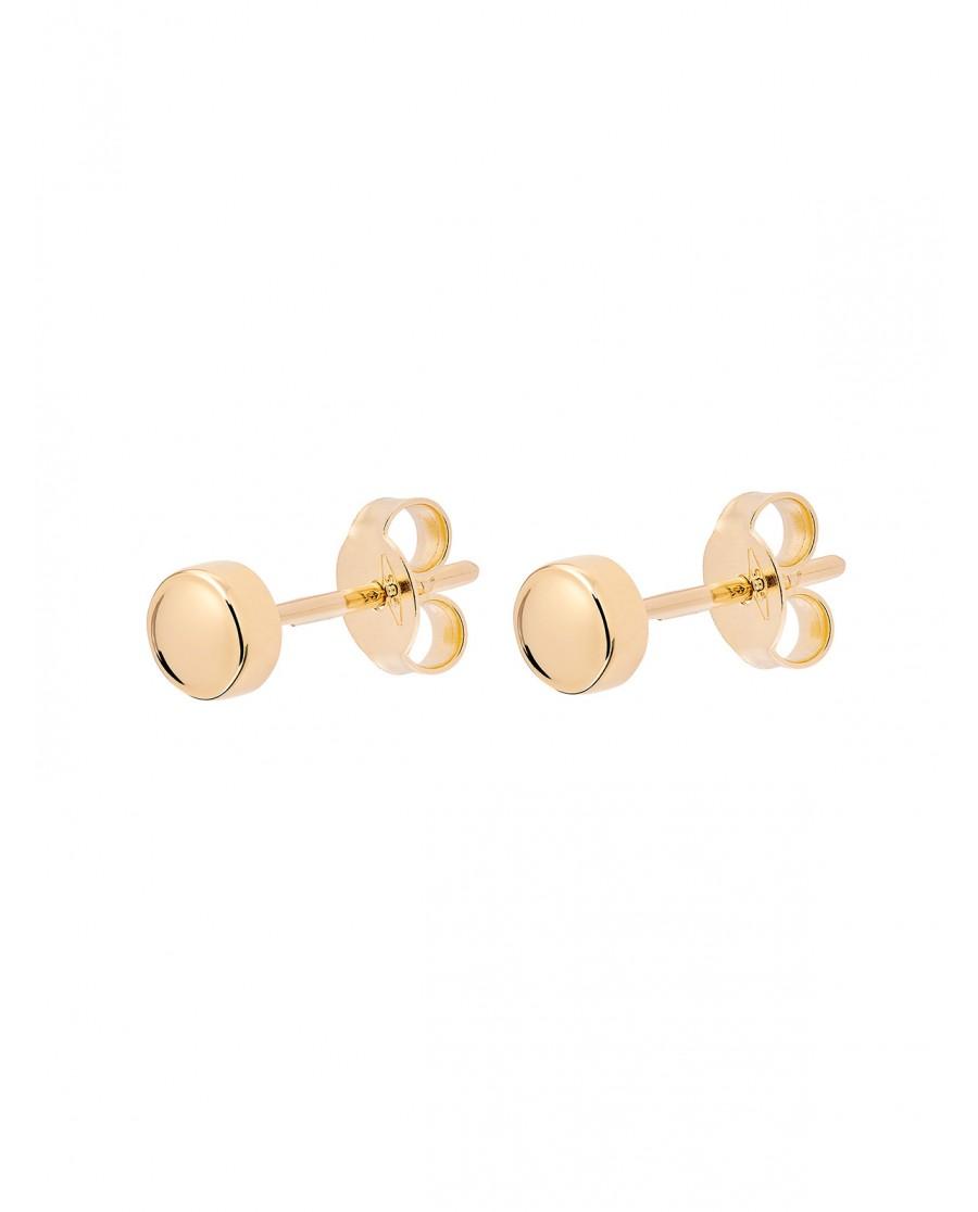 Pearl Złote Kolczyki Kolczyki N°20