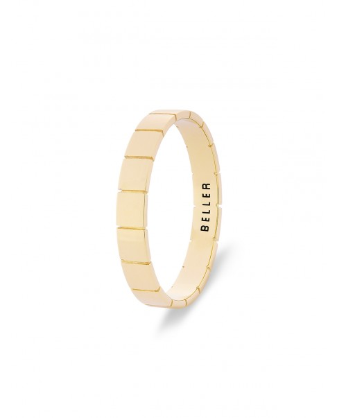 Geometric Gold Band N°11
