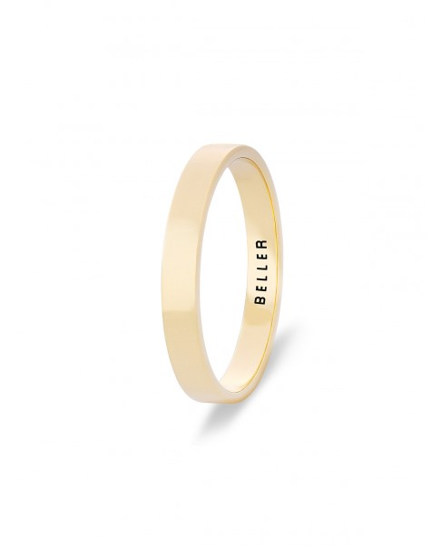 Geometric Gold Band N°13