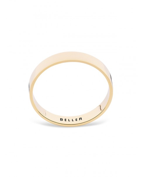 Geometric Gold Band N°22