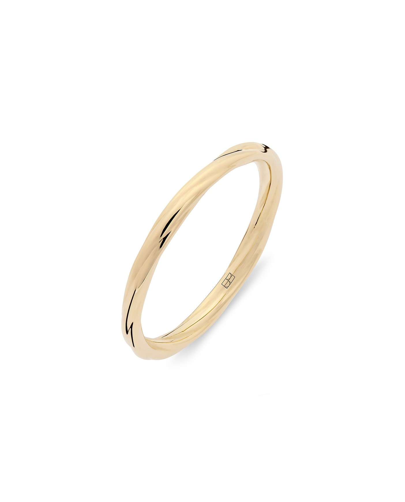 Twirl Złoty Pierścionek No1