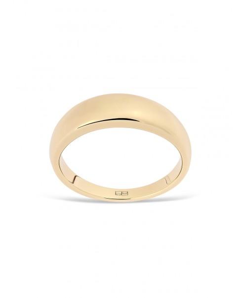 Round Gold Ring N°3