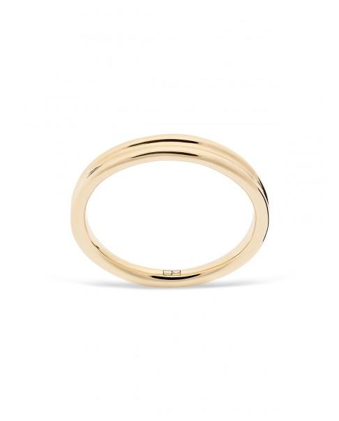 Round Gold Ring N°7