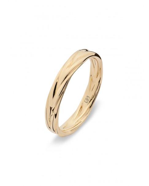 Twirl Złoty Pierścionek N°9
