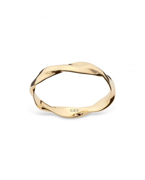 Twirl Gold Ring N°10