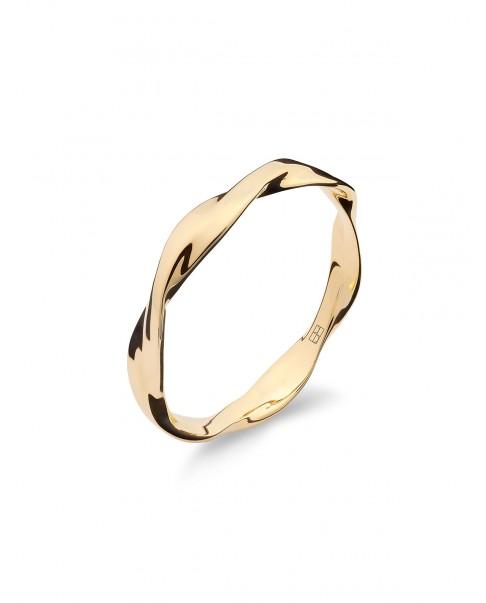 Twirl Złoty Pierścionek N°10