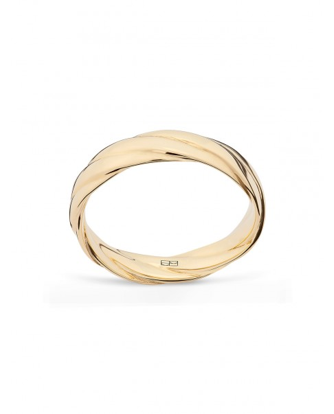 Twirl Gold Ring N°11