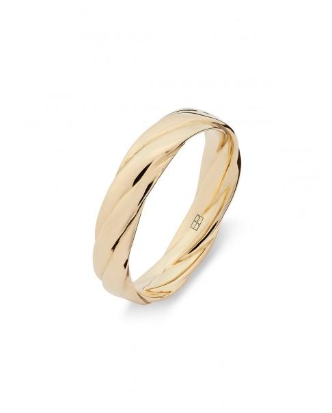 Twirl Złoty Pierścionek N°11