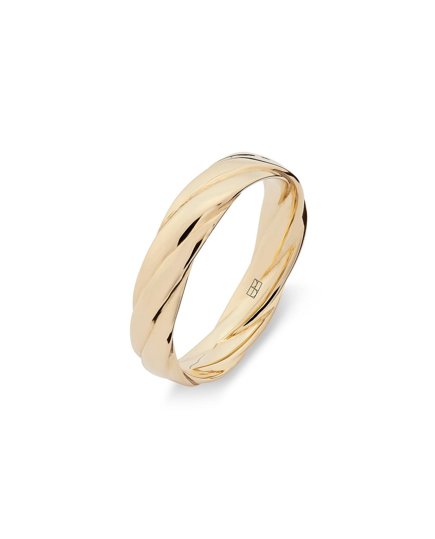 Twirl Pierścionek Złoty N°11