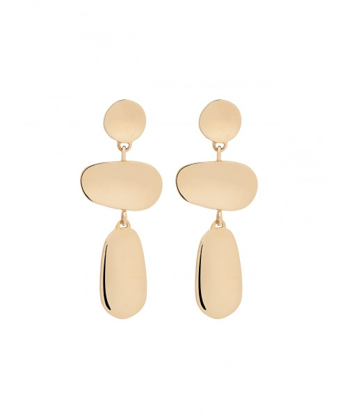 Raw Gold Earrings N°25