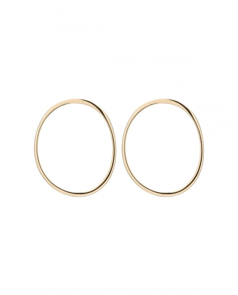 Raw Gold Earrings N°28