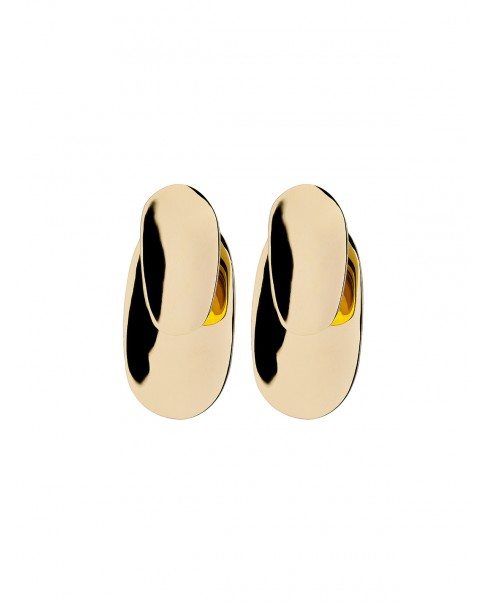 Raw Gold Earrings N°23