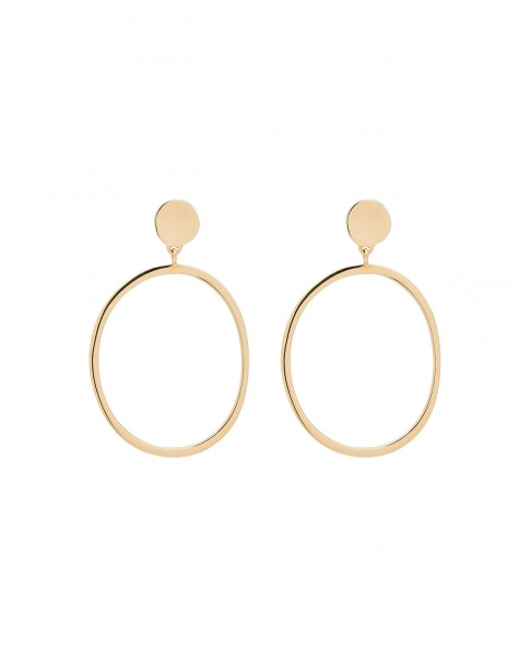 Raw Gold Earrings N°16