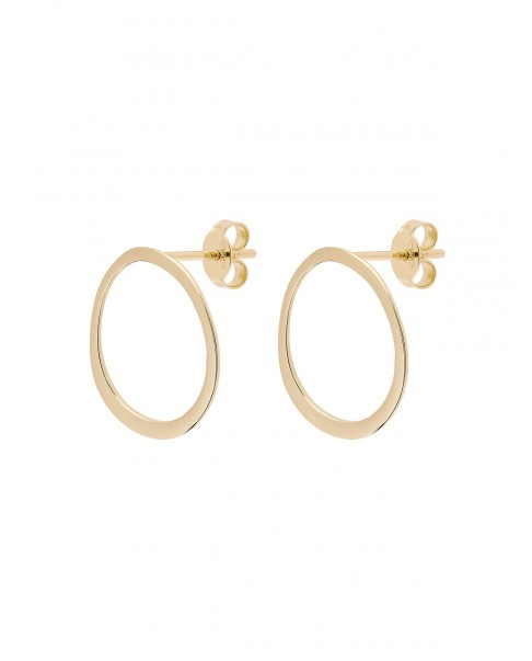 Raw Gold Earrings N°18