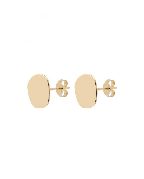 Raw Gold Earrings N°20