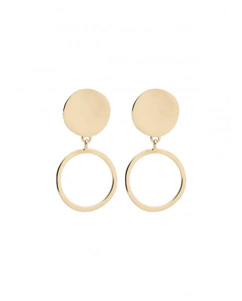 Raw Gold Earrings N°26