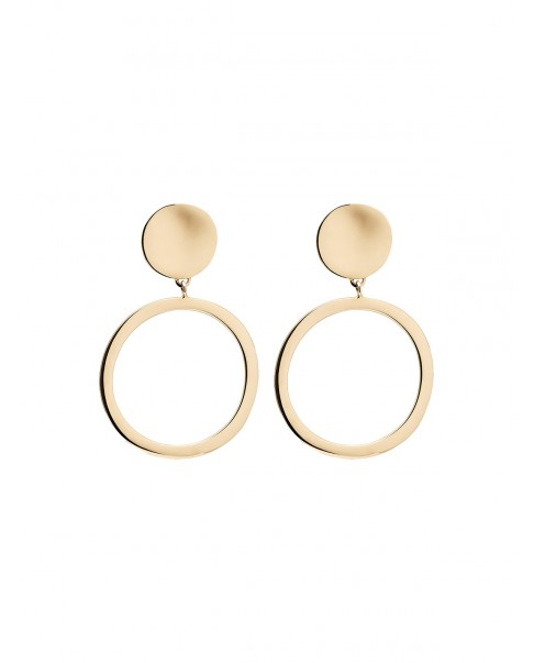 Raw Gold Earrings N°36