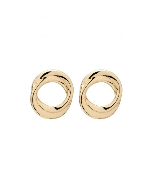 Twirl Gold Earrings N°19