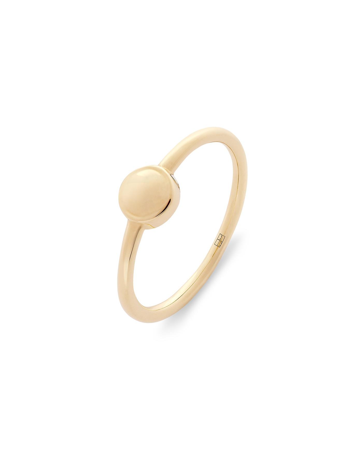Pearl Złoty Pierścionek N°1
