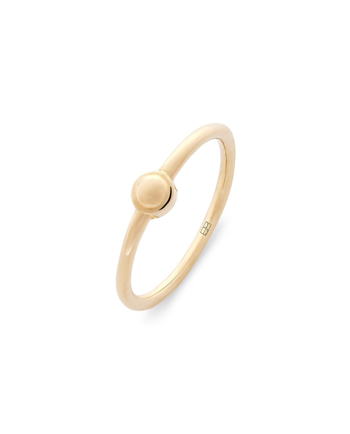 Pearl Złoty Pierścionek N°2