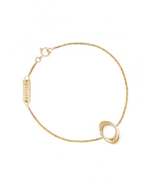 Twirl Gold Bracelet N°39