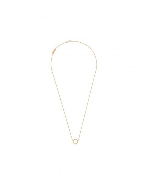 Twirl Złoty Naszyjnik N°38