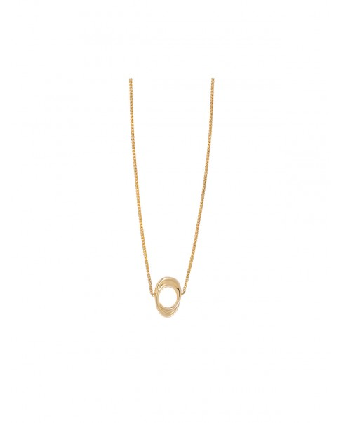 Twirl Gold Necklace N°36
