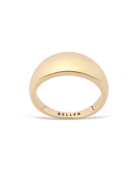 Round Gold Ring N°12