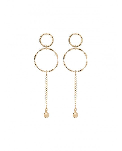 Twirl Gold Earrings N°26