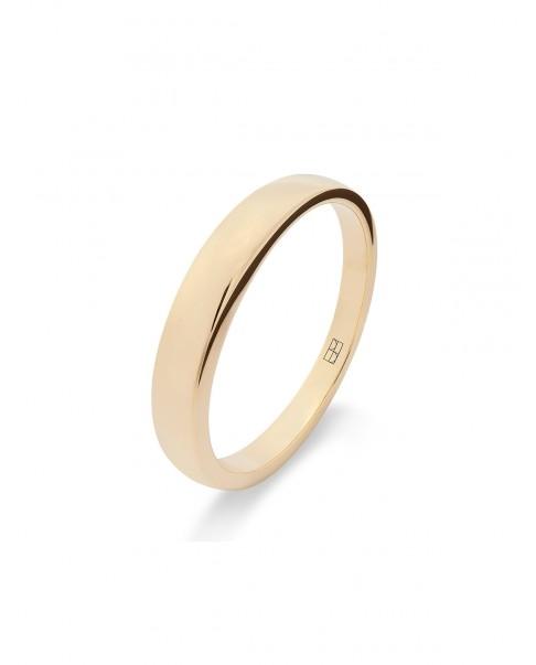 Round Gold Ring N°34