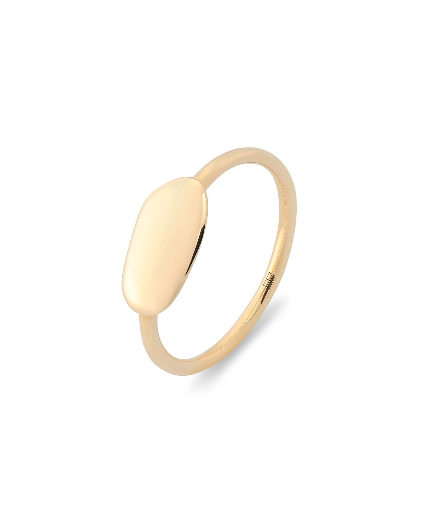 Pearl Złoty Pierścionek N°7