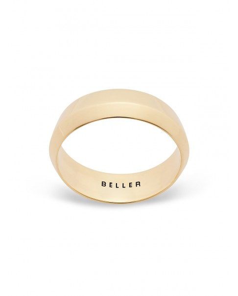 Geometric Gold Band N°18