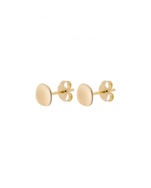Raw Gold Earrings N°14