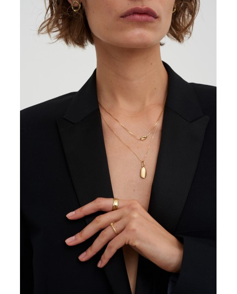 Pearl Gold Pendant N°12