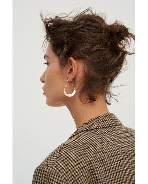 Raw Gold Earrings N°37