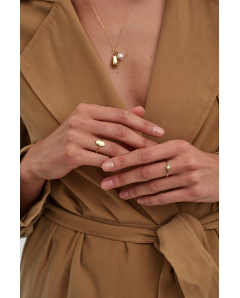 Pearl Gold Ring N°4