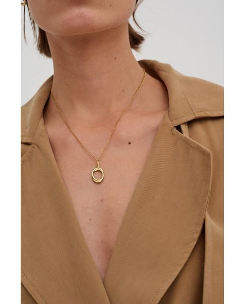 Twirl Gold Pendant N°16
