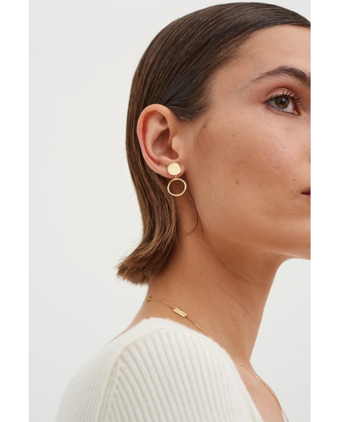 Raw Gold Earringsi N°30