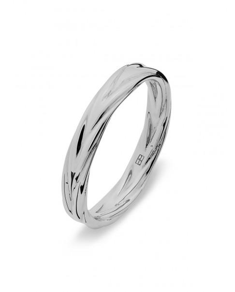 Twirl Silver Ring N°42