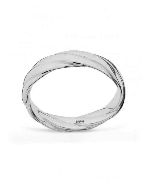 Twirl Srebrny Pierścionek N°43