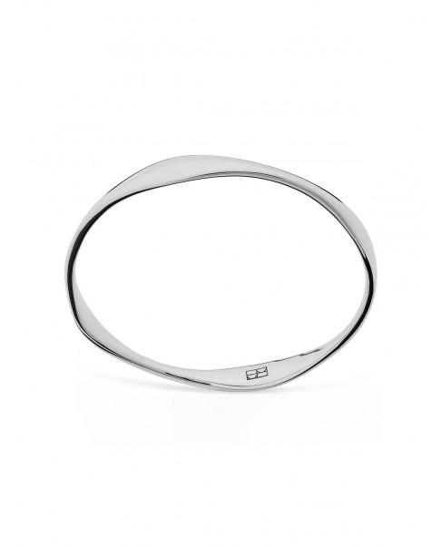 Twirl Srebrny Pierścionek N°45