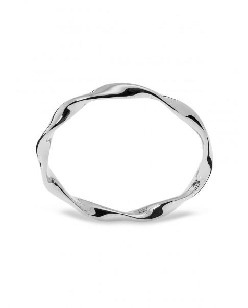 Twirl Srebrny Pierścionek N°46