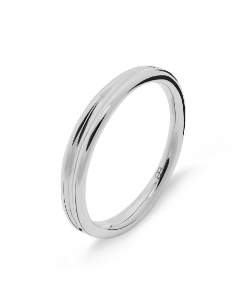 Round Silver Ring N°48