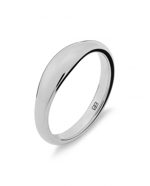 Round Silver Ring N°50