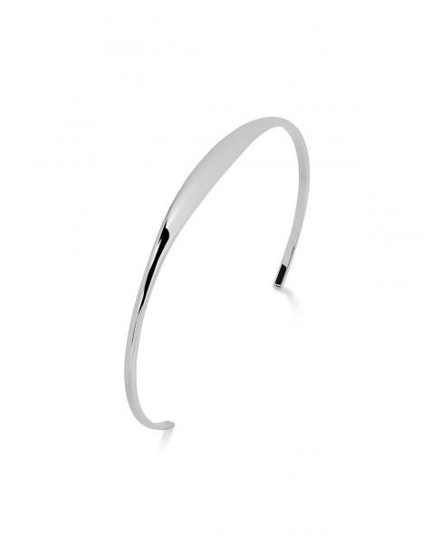 Round Silver Bracelet N°54