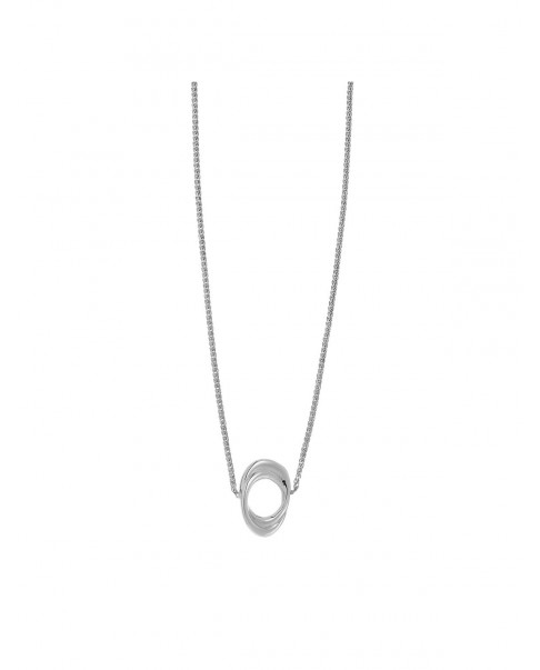 Twirl Silver Necklace N°57