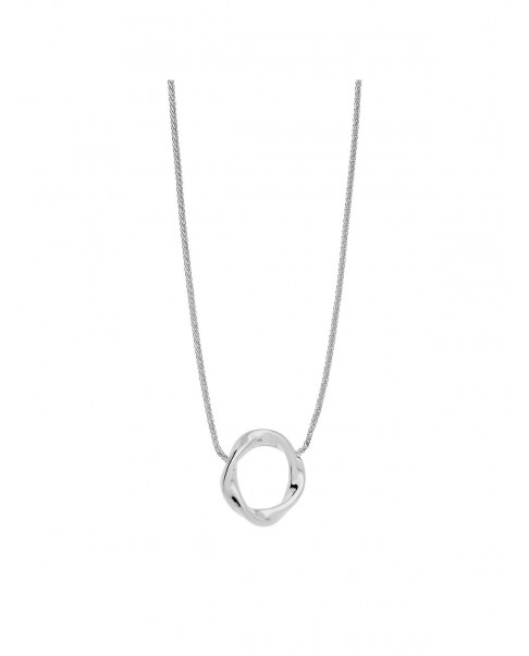 Twirl Silver Necklace N°60