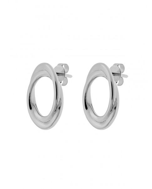 Twirl Silver Earringsi N°69