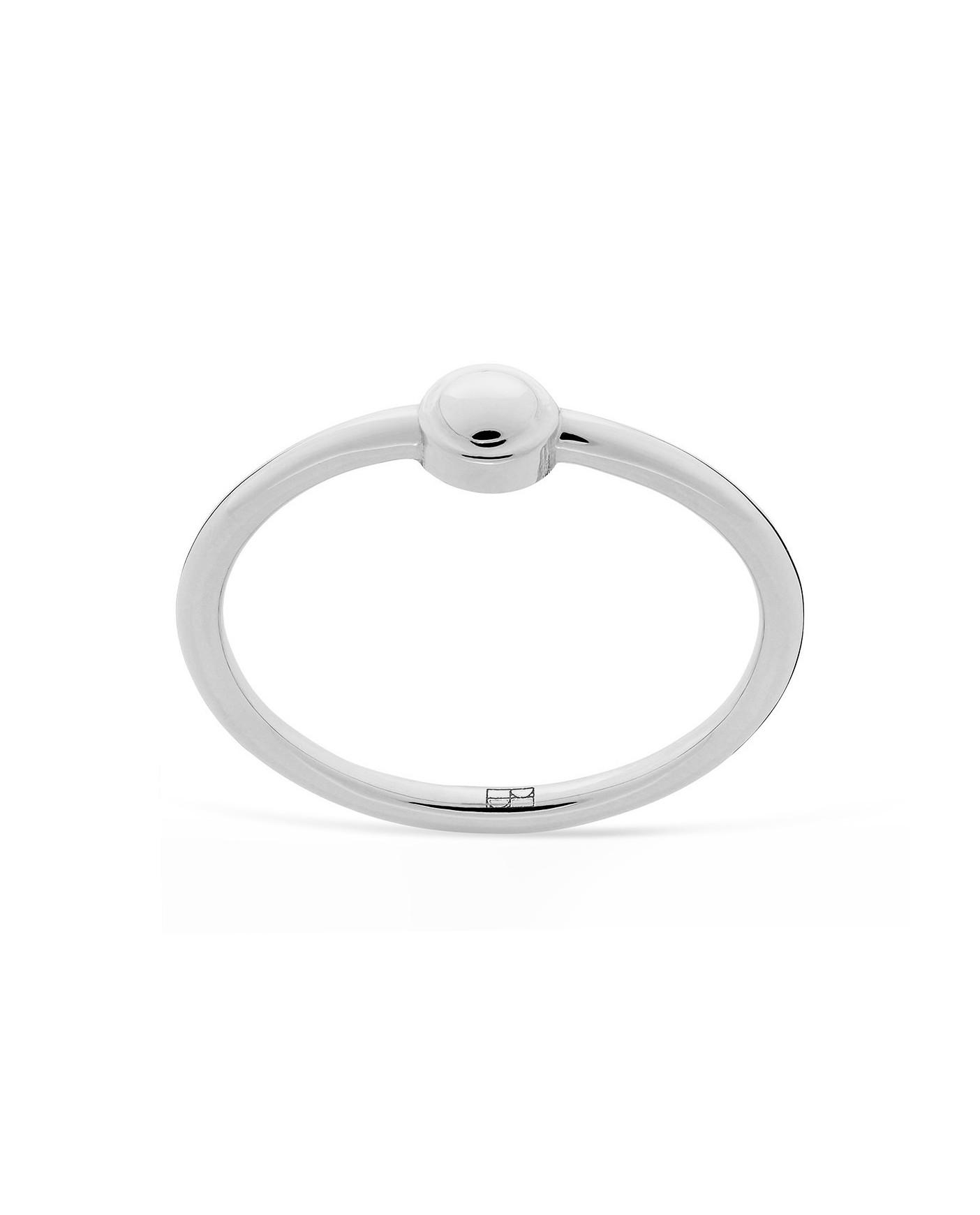 Pearl Srebrny Pierścionek N°21